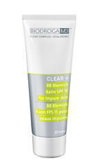 BIODROGA MD CLEAR+ BB CREAM BLEMISH BALM SPF 15 (02 HONEY), 75ml