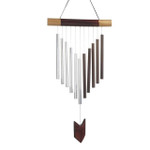 chevron wind chime