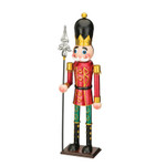 red toy soldier with spear