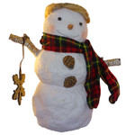 gary head snowman collection 12""