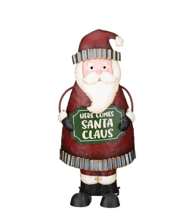 indoor outdoor santa decor