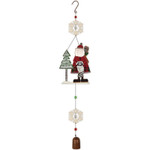 country santa door hanger
