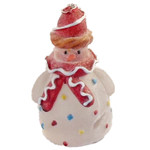 snowman with icing ornament