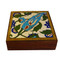 blue tile shesham box