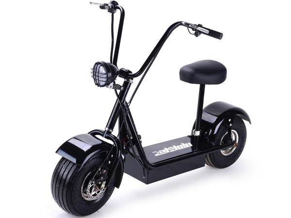 FatBoy Scooter Has 4 Batteries