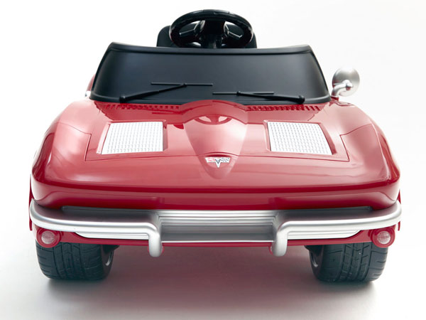 Battery Power Kids Corvette Front