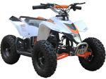 Kids battery ATV. white