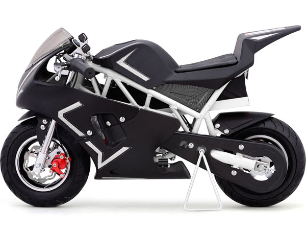 Black moto tec cali pocket bike