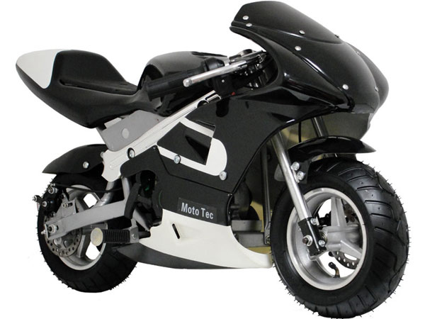 33cc gas pocket bike black