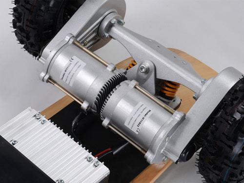 mototec 1600 skateboard dual 800 watt motors
