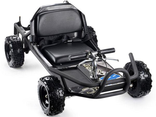 Moto Tec Sandman 49cc Gas Go Kart black