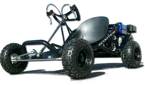 scooter x sport kart off road kart
