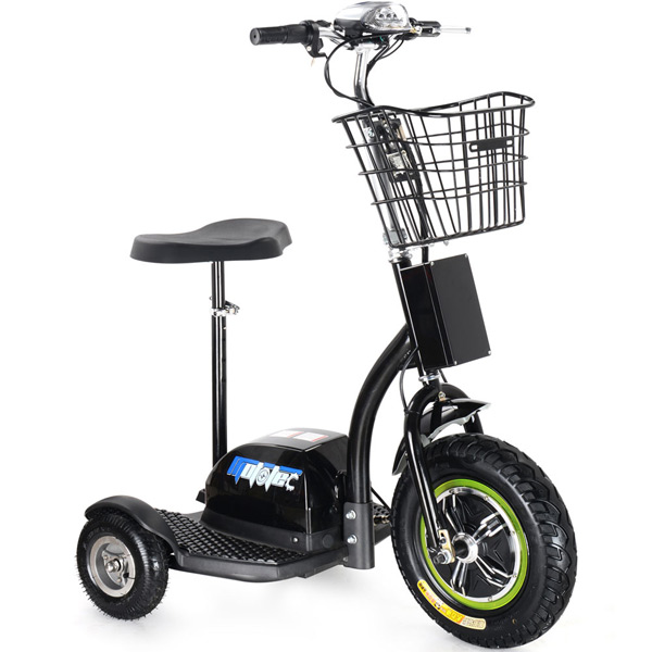 mototec 500 watt three wheel electric scooter