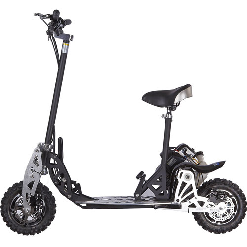 uberscoot 2x scooter side view