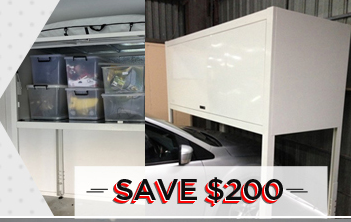 discount on over bonnet storage locker