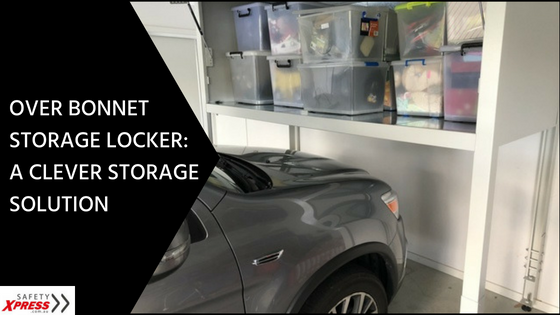 Over Bonnet Storage Locker