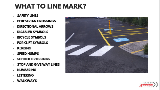 What to line mark in a car park