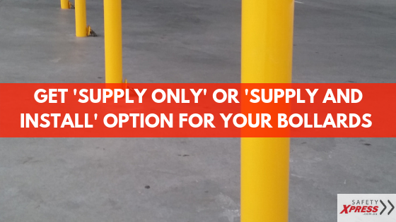 We Now Supply And Even Install Bollards In Melbourne, Sydney & Other