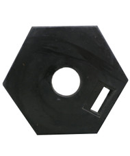Rubber Base 6kg for T-Top Bollards