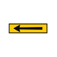 Horizontal Arrow Sign (Symbol) - (1200mmx300mm) - Corflute