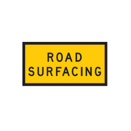 Road Surfacing - Sign (1200mmx600mm) - Corflute