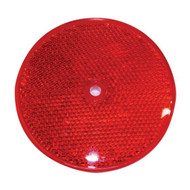 Reflectors - RED -  For Square Bollards