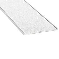 Aluminium w/ White Carborundum Insert 54mmx2.5mm Stair Nosing - Per Metre