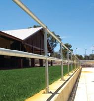 Safety Handrail Kit per metre (galvanised)