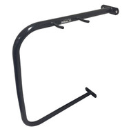 Wall Mount Bike Rack - Black Powder Coated Galvanised Steel - Depth: 600MM W: 125MM H: 700MM