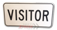 Visitor Sign (450x225MM) - Metal