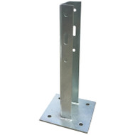 Guard Rail 700mm Post with baseplate