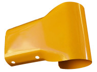 Guardrail Bullnose end - yellow