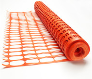 Orange Barrier Mesh 50M Roll