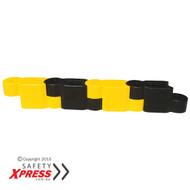 Chain Kerb Low Barrier Blocks