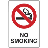No Smoking Sign (600x450MM) - Metal