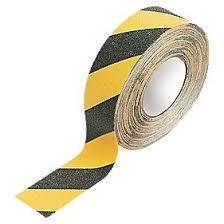 Anti-Slip Tape Yellow/Black - 10M Roll