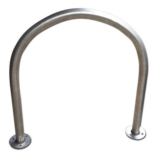 Bike Rack - Stainless Steel Hoop Surface Mount 316 Grade