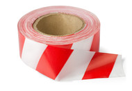 Barrier Tape - Red/White 50m Roll