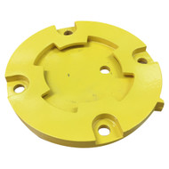 Base Plate Receiver - Twist Type Removable Surface Mount Bollard