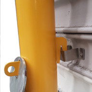 Bollard - Roller Door Removable 90mm Sleeve Lock