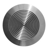 Tactile Indicator Single Studs - TGSI Stainless Steel Concentric (Flat Back)
