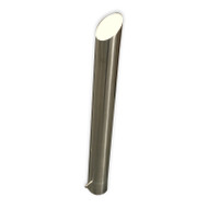 Bollard - Below Ground 140MM Stainless Steel Bevelled Top