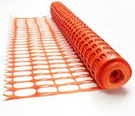 Orange Barrier Mesh 50M Roll - 8KG