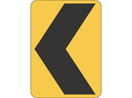 Temporary Hazard Ahead Sign (600x600MM) - Corflute
