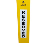 Vinyl Sticker - Reserved 80 x 400mm