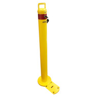 Removable Bollard - Surface Mount - Keyed Alike - Slider Type