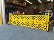 Portable Mobile Safety Barrier