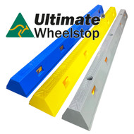 Ultimate Wheel Stop (Coloured) - Australian Made LLDPE - 5 Year warranty