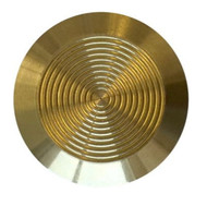 Tactile Indicator Single Studs - TGSI Brass Concentric