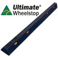 Ultimate Wheel Stop (Black) - Australian Made LLDPE